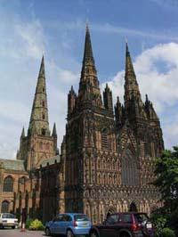 Kathedrale von Lichfield